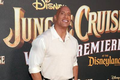 Dwayne 'The Rock' Johnson's food truck helps feed first responders across nation